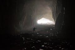 grotta Arkivfoto