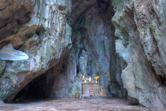 Grotta av marmorberget på Da Nangstaden Royaltyfri Fotografi