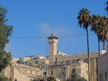 Grotta av patriarkerna, Jerusalem arkivfoton