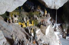 Grotta av tusen Buddha Arkivfoton