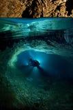 grotta crimea ukraine Royaltyfri Fotografi