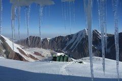 Grotta del ghiaccio fotografia stock libera da diritti