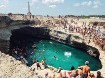 Grotta Della Poesia Стоковое Изображение RF