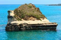 Grotta-dello Mbruficu, Salento-Seeküste, Italien Lizenzfreie Stockfotografie