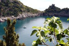 Grotta dello Smeraldo bay Italy Stock Photography