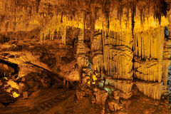 Grotta di Nettuno, Sardinia, Itália fotos de stock royalty free