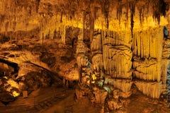 Grotta Di Nettuno, Sardinige, Italië royalty-vrije stock foto's