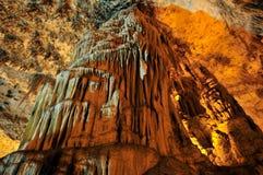 Grotta Di Nettuno, Sardinige, Italië stock foto's