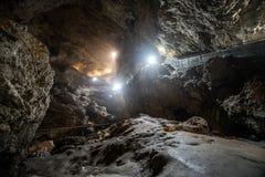 Grotta för hals för jäkel` s royaltyfri foto