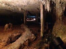 Grotta för studie Arkivfoto