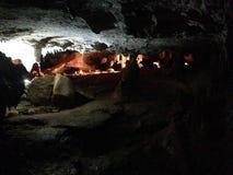 Grotta för studie arkivbild