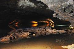 grotta förlorat hav Fotografering för Bildbyråer