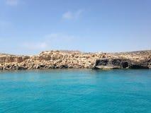 Grotta Grecko Arkivbilder