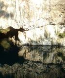 Grotta i Bosnien Arkivbild
