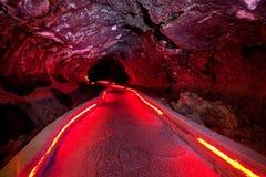 Grotta i Lava Beds fotografering för bildbyråer