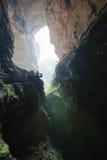 grotta i wulong, chongqing, porslin royaltyfria foton