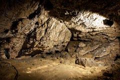 Grotta Ialominta Fotografering för Bildbyråer