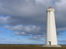 Grotta Lighthouse, Iceland Royalty Free Stock Photos