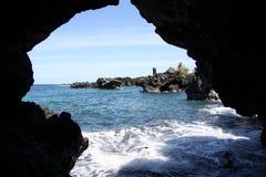 grotta maui Fotografering för Bildbyråer