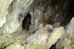 Grotta in Pyrenees Royalty Free Stock Photography