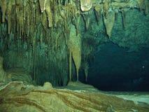 grotta som dyker iii Arkivbilder