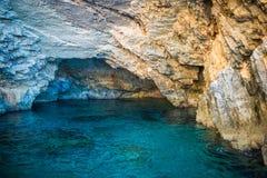 Grotta su Zacinto Immagine Stock Libera da Diritti