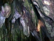 grotta Underjordisk flod på ön av Palawan arkivfilmer