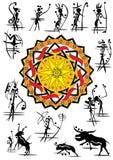 grottabild royaltyfri illustrationer