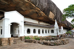 grottadambullatempel Royaltyfri Fotografi