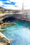 Grottadella Poesia, provincie van Lecce, Itali? stock afbeelding