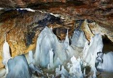 Grottaglaciär Royaltyfria Bilder