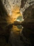 grottagreen Royaltyfria Foton