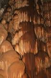 GrottaInterior med vattenfall Fotografering för Bildbyråer