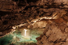 grottaiskungur Royaltyfri Fotografi
