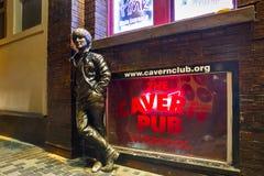 Grottaklubba Liverpool Fotografering för Bildbyråer