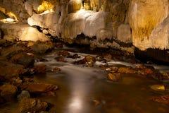 grottalimestone Arkivfoto