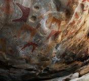 Grottamålningar och petroglyphs Laas Geel, Hargeisa, Somalia Royaltyfri Bild