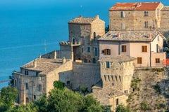 Grottammare - Antico Borgo fotografie stock libere da diritti