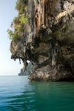 Grottan av James Bond Island, Phang Nga, Thailand Royaltyfri Fotografi