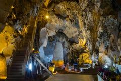 Grottan i Chiangmai, Thailand Royaltyfri Bild