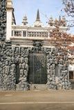 Grottan i den Wallenstein trädgården, PRAGUE, TJECKIEN royaltyfria bilder