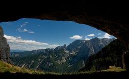 grottasikt Royaltyfria Foton