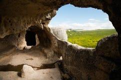 grottastad Arkivfoton