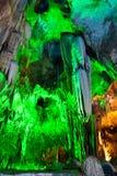 grottastalactites Fotografering för Bildbyråer