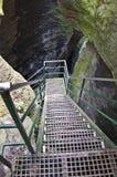 grottatrappa till Royaltyfri Bild