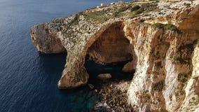 Grotte bleue Malte Image libre de droits