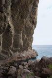 Grotte Chaliapin de Vinoteca Golitsyn en montagne Koba-Kaya photo libre de droits