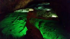 Grotte de Ла Cocalière Стоковые Фото