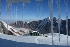 Grotte de glace Photo libre de droits
