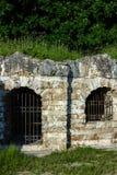 Grotte del sale nel parco di Kuzminsky Immagini Stock